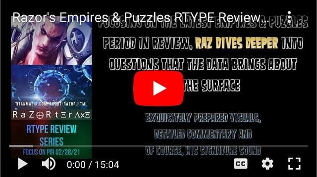 RAZORS RTYPE REVIEW SERIES