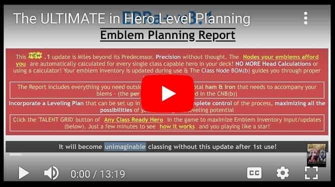 RAZORS Ultimate in Hero Level Planning